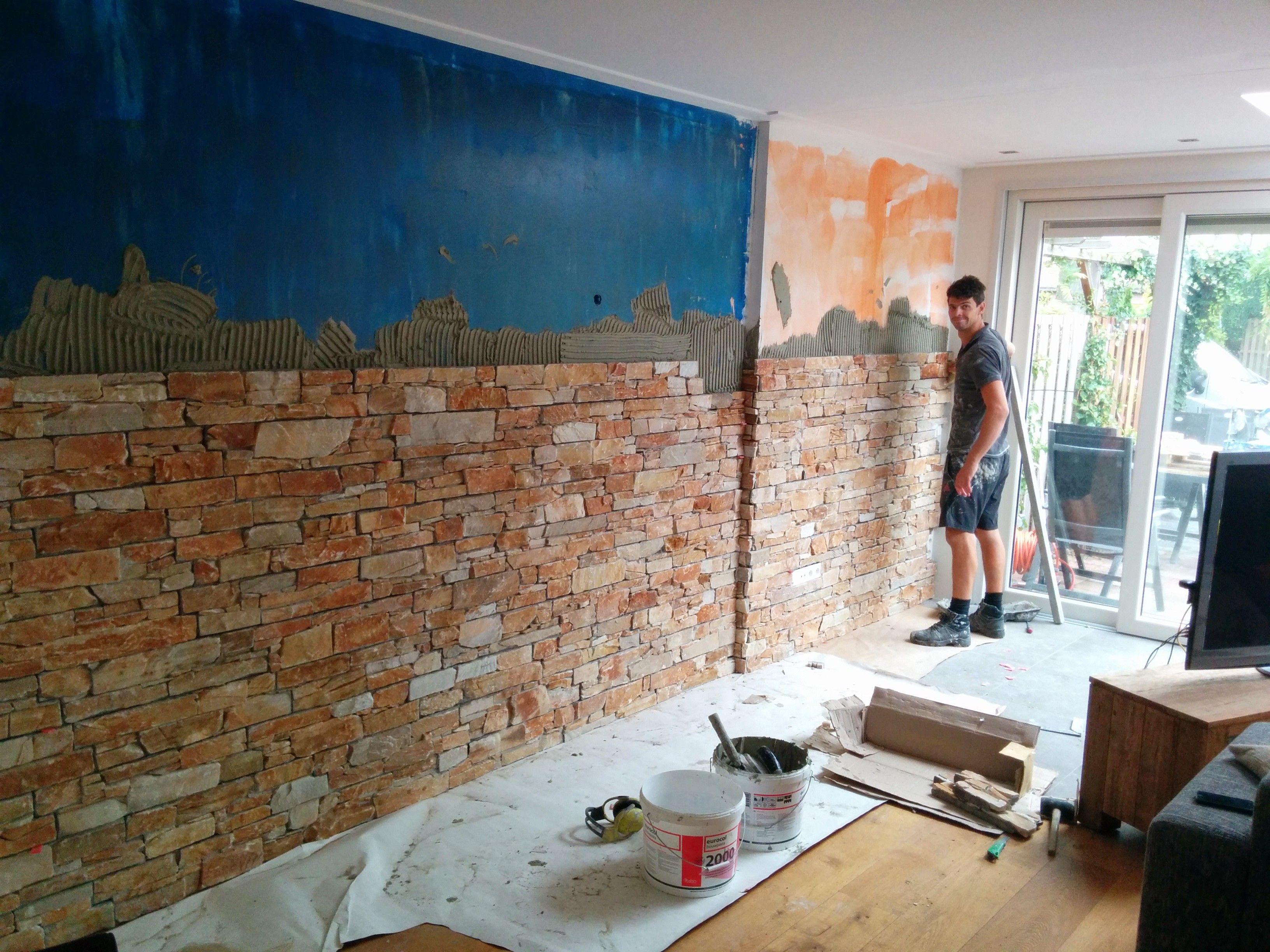 Keuken Beige Tegels : Wandtegels volendam zoals een muur buiten